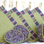 Place mat -sets Quilted